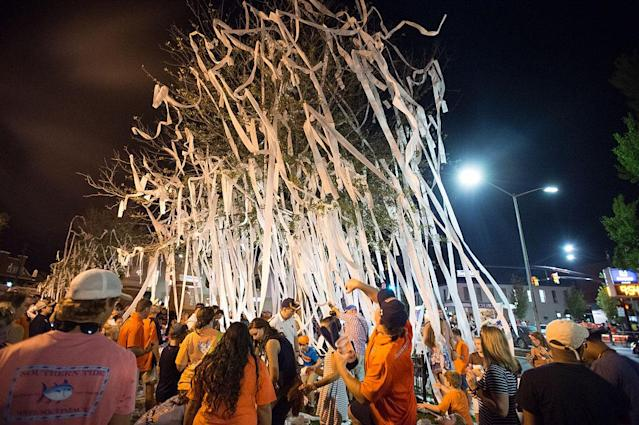 <p><strong>29. Auburn</strong><br>Top 2017-18 sport: men's golf. Trajectory: Up. There were enough troubling off-field headlines in Auburn athletics that longtime AD Jay Jacobs resigned — but the Tigers had a great year on the field. They moved up from 28th to 18th, scoring points in men's basketball for the first time in a long time. </p>