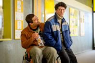 """<p>Inspired by real events, this German series tells the story of how a 17-year-old high school student created Europe's largest online drug business from his bedroom with his best friend, Lenny - and all to impress his American pill-popping party-animal ex-girlfriend, Lisa. This coming-of-age story will likely remind you of <strong>Sex Education</strong> (if the series replaced sex advice with pills, that is). You can stream the first two seasons of this series, though you'll have to <a href=""""http://www.whats-on-netflix.com/news/how-to-sell-drugs-online-fast-renewed-for-season-3-at-netflix"""" class=""""link rapid-noclick-resp"""" rel=""""nofollow noopener"""" target=""""_blank"""" data-ylk=""""slk:wait until fall 2021 for season three"""">wait until fall 2021 for season three</a>. </p> <p><a href=""""http://www.netflix.com/title/80218448"""" class=""""link rapid-noclick-resp"""" rel=""""nofollow noopener"""" target=""""_blank"""" data-ylk=""""slk:Watch How to Sell Drugs Online (Fast) on Netflix now"""">Watch <strong>How to Sell Drugs Online (Fast)</strong> on Netflix now</a>.</p>"""
