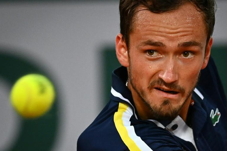 Daniil Medvedev lost for the first time in a Grand Slam quarter-final