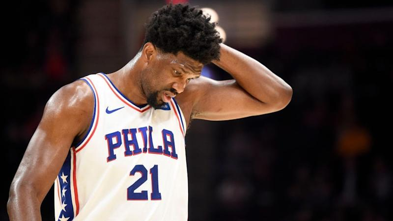 Joel Embiid reacts to Ben Simmons likely playing power forward for Sixers