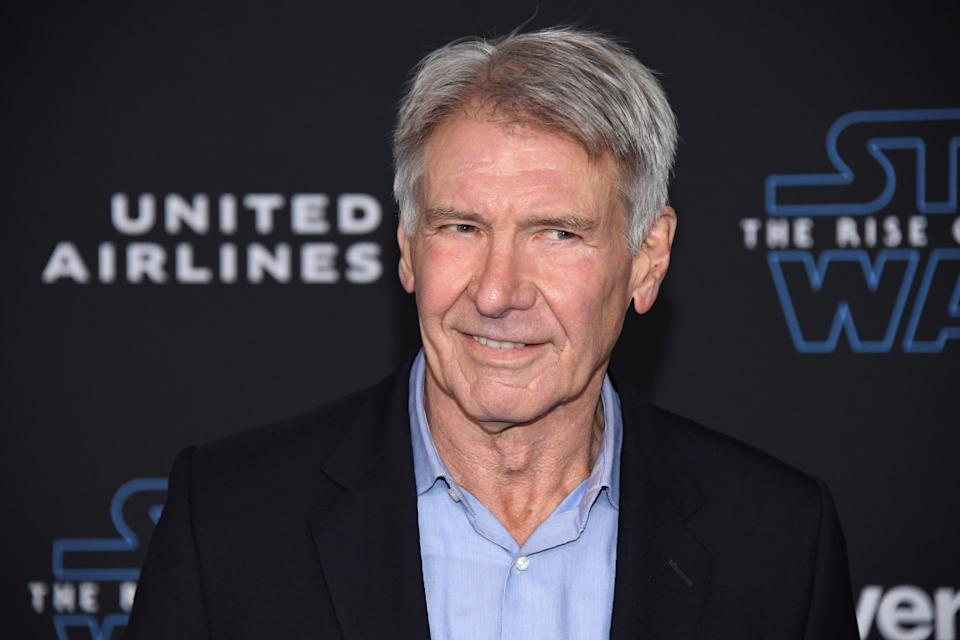 "Harrison Ford attends the premiere of ""Star Wars: The Rise of Skywalker"" in Los Angeles, California, U.S. December 16, 2019. REUTERS/Phil McCarten"