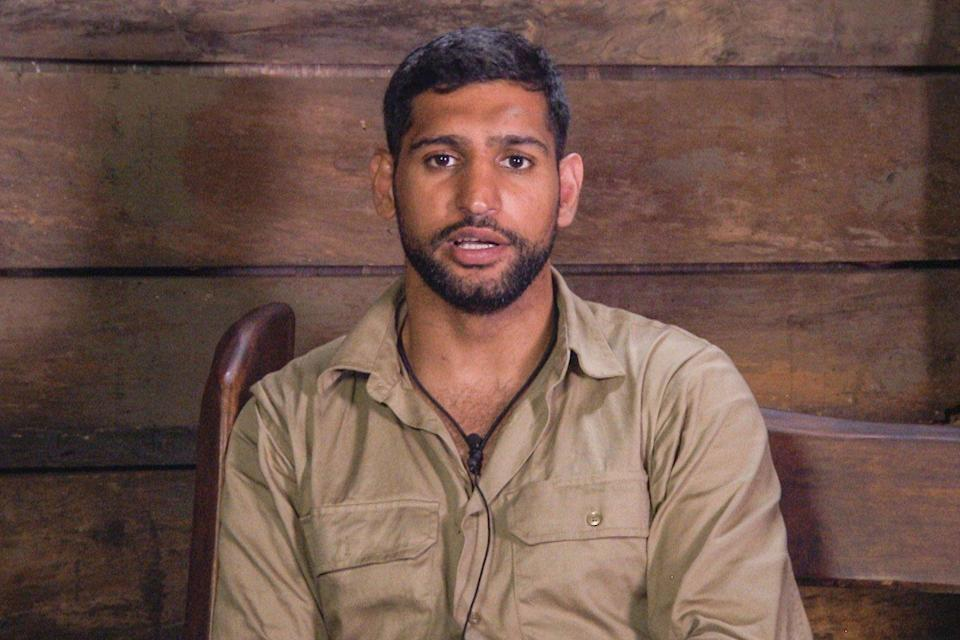 Amir previously shocked his fellow campmates with his lack of political knowledge. Copyright: [ITV]