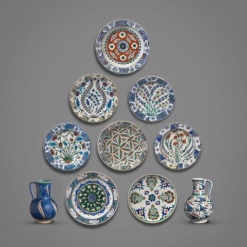 Iznik pottery from the Barlow Collection
