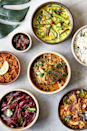 "<p> Authentic flavours of Sri Lanka run wild in meat and vegan feasting boxes from Soho's Kolamba. A simple reheating will draw out the flavours of island classics classics like ceylon chicken curry, dhal, green bean and coconut curry and fiery Pol Sambols for two.</p><p>Available for Valentine's Day only, their Love One Another food delivery box includes banana blossom pattis, pineapple curry, chicken string hopper biriyani and chocolate biscuit pudding.</p><p>Price: From £36 </p><p>Available nationwide</p><p>Order <a class=""link rapid-noclick-resp"" href=""https://kolambahome.co.uk/collections"" rel=""nofollow noopener"" target=""_blank"" data-ylk=""slk:here"">here</a> </p>"