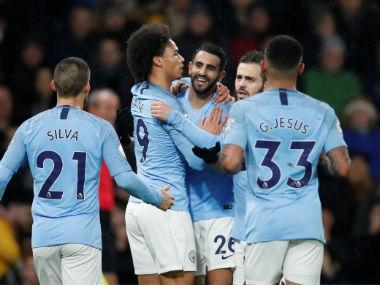 Premier League: Manchester City edge past Watford to extend winning streak; Bournemouth beat Huddersfield