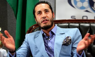 Ex-Libyan Leader's Son 'Flees To Niger'