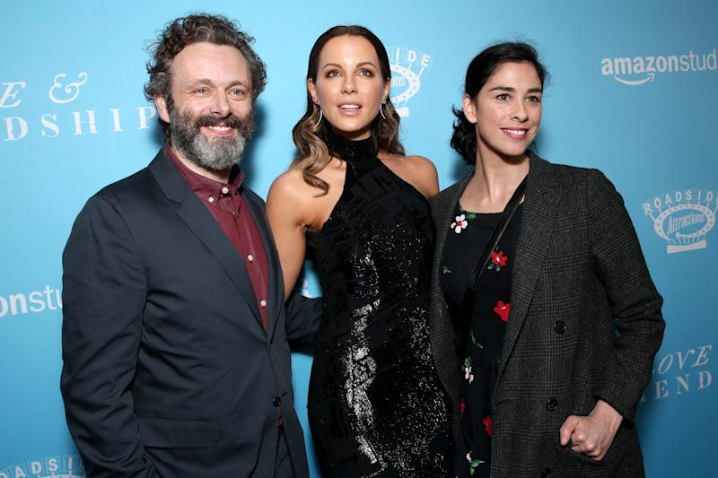 ef5324a81b50ee 'Cruel' Kate Beckinsale gave Sarah Silverman hilarious M&Ms before Michael  Sheen breakup