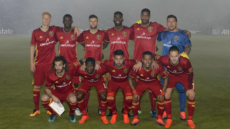 Real Salt Lake team photo 102616