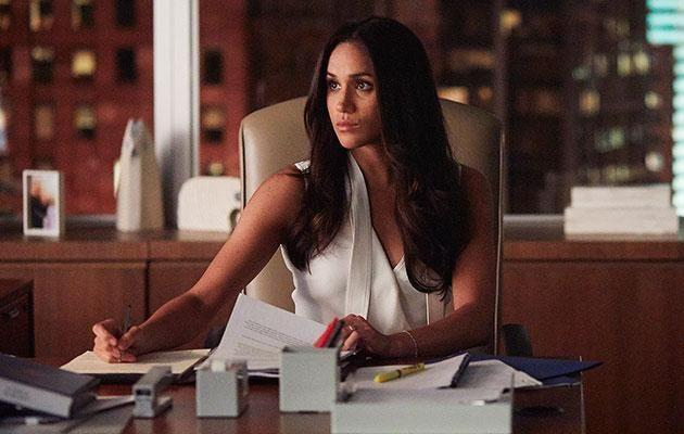 Meghan had just landed her role on the hit TV show Suits when she married Trevor. Photo: Getty