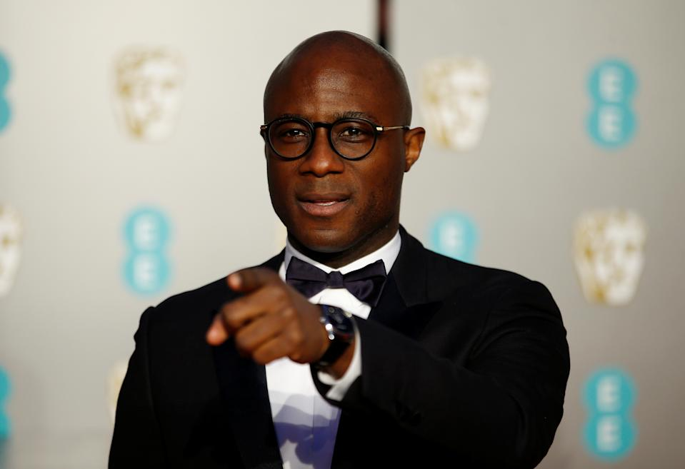 Barry Jenkins arrives at the British Academy of Film and Television Awards (BAFTA) at the Royal Albert Hall in London, Britain, February 10, 2019. REUTERS/Henry Nicholls