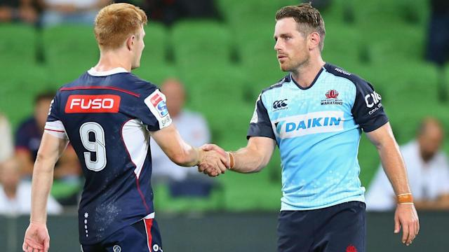 Bernard Foley made his first appearance of the Super Rugby season against Rebels but could face another spell on the sidelines.
