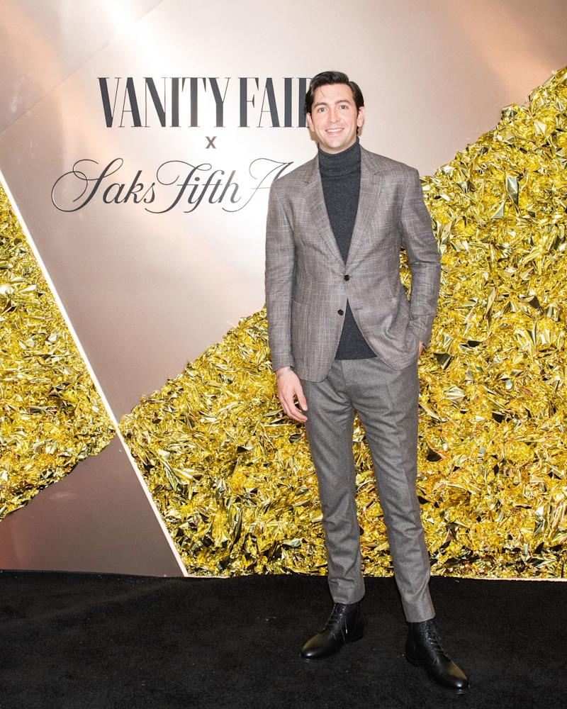 """Nicholas Braun— Succession 's """"Cousin Greg""""—Reveals His Red Carpet Style Crushes"""