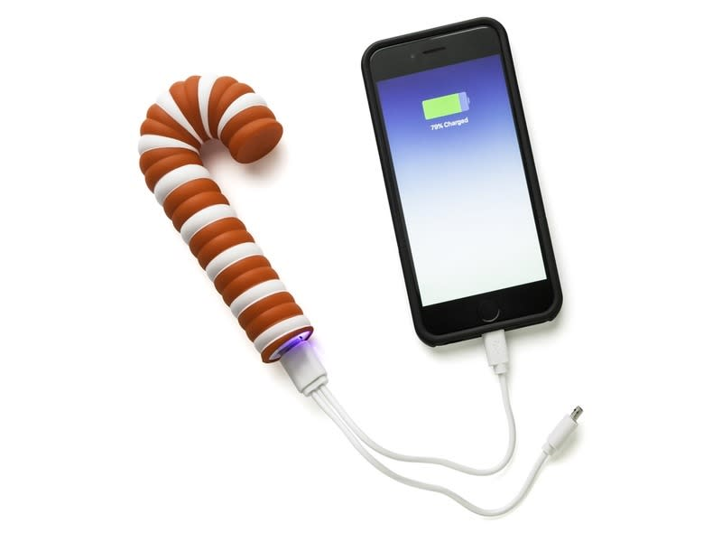 Candy Cane Power Bank