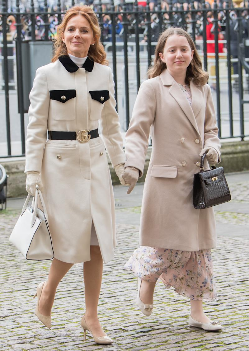 The singer attended the Commonwealth Service at Westminster Abbey with her daughter Bluebell last month (Getty Images)