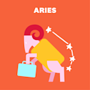 """<p>Life is all about balance, <a href=""""https://www.womenshealthmag.com/life/a31480904/aries-zodiac-sign-traits/"""" rel=""""nofollow noopener"""" target=""""_blank"""" data-ylk=""""slk:Aries"""" class=""""link rapid-noclick-resp"""">Aries</a>, and you'll be hyper aware of that this month. It's all thanks to Mars pushing you to <a href=""""https://www.womenshealthmag.com/life/g29462222/coworker-communicate-zodiac-sign-astrology/"""" rel=""""nofollow noopener"""" target=""""_blank"""" data-ylk=""""slk:go hard at work"""" class=""""link rapid-noclick-resp"""">go hard at work</a>—<em>and </em>have fun. That might sound counterintuitive, but who says you can't have it all? Plus, that extra effort will pay off when the full moon on the 22nd urges you to go into relaxation mode with your friends.</p><p>Btw, the universe is sending some solid workout vibes your way but, at the same time, you'll be super confident about how you look. Remember: You don't need to have the perfect body—no one does, after all. When Uranus goes retrograde on the 19th in your money house, you'll want to change up your cash flow. (Maybe it's time for a side hustle…?)</p>"""