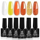 """<p><strong>beetles Gel Polish</strong></p><p>amazon.com</p><p><strong>$13.99</strong></p><p><a href=""""https://www.amazon.com/dp/B07TYXQJZR?tag=syn-yahoo-20&ascsubtag=%5Bartid%7C10050.g.33512580%5Bsrc%7Cyahoo-us"""" rel=""""nofollow noopener"""" target=""""_blank"""" data-ylk=""""slk:Shop Now"""" class=""""link rapid-noclick-resp"""">Shop Now</a></p><p>For a simple manicure, this gel polish collection is all you need. We adore the candy corn colors!</p>"""
