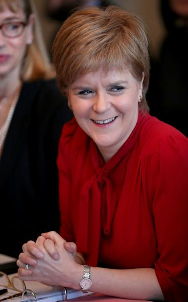 Scotland's First Minister Nicola Sturgeon says she wants to hold a second independence referendum, ideally before Brexit