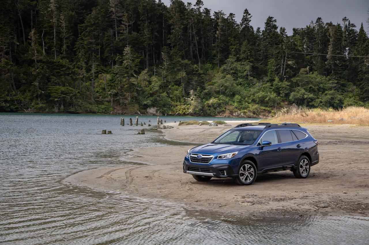 """<p>The 2020 Subaru Outback enters its sixth generation with minor design changes, a more spacious second row, and new infotainment technology. Read the full story <a href=""""https://www.caranddriver.com/reviews/a28531970/2020-subaru-outback-drive/"""" target=""""_blank"""">here</a>.</p>"""