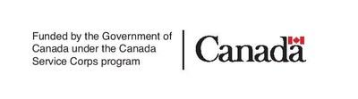 Logo: Funded by the Government of Canada under the Canada Service Corps program (CNW Group/Cirque Hors Piste)