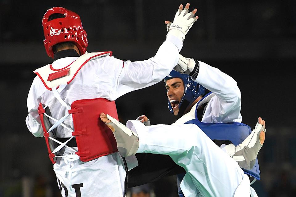<p>The Olympian's sport of choice for the summer games is Taekwondo. In 2016, he was unfortunately eliminated in his first match by Iranian Sajjad Mardani. </p>