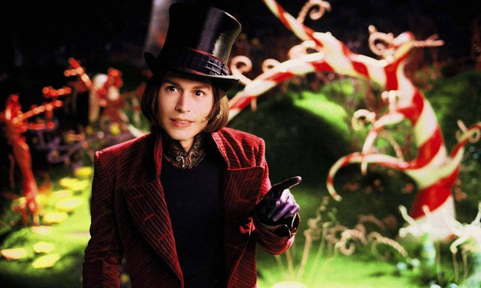 Tim Burton's Charlie and the Chocolate Factory with Johnny Depp (pictured) cheapened the character.