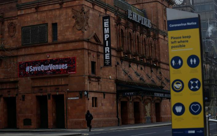 The Middlesbrough Empire theatre - LEE SMITH/REUTERS