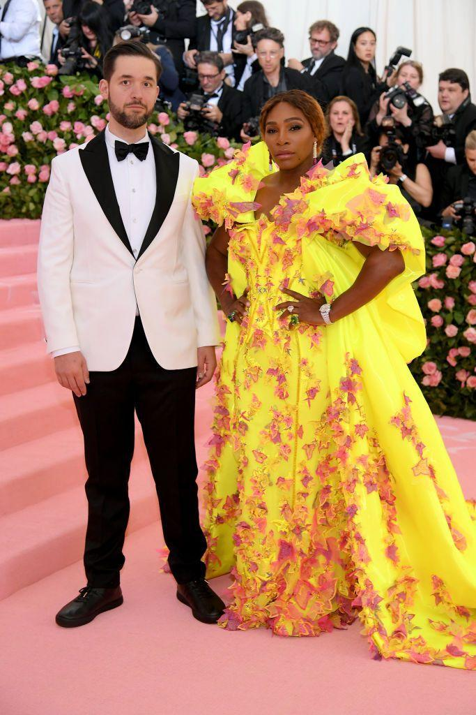 "<p>If there were an award for Most Supportive Husband, Alexis Ohanian would probably win it. The Reddit cofounder married Serena Williams in 2017, and he's been by her side ever since. When he's not sitting courtside at her tennis matches, you can probably find him gushing over her on social media. </p><p>""She has the biggest heart,"" Ohanian told <a href=""https://www.facebook.com/humansofnewyork/posts/1711556665585093:0"" rel=""nofollow noopener"" target=""_blank"" data-ylk=""slk:Humans of New York"" class=""link rapid-noclick-resp"">Humans of New York</a>. ""Everyone sees her success as an athlete, but all of that is layered on the size of her heart. She gives 100% of herself to everything she does.""</p>"