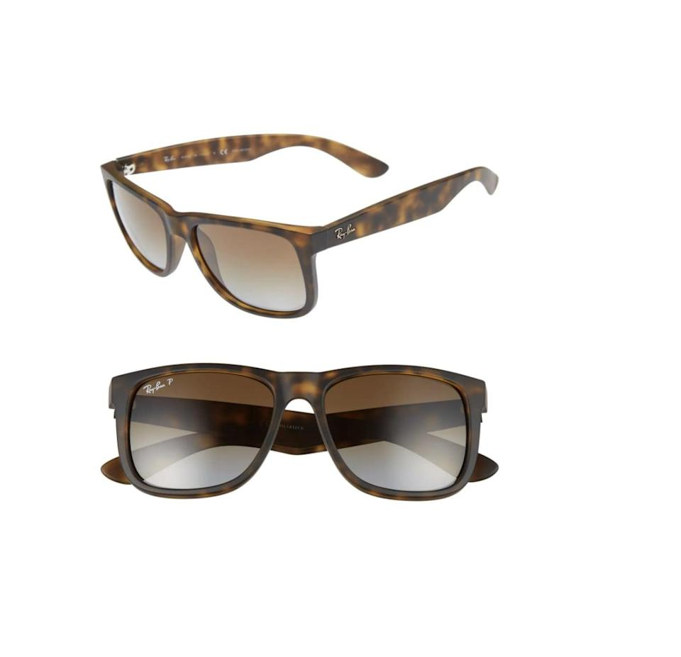 <p>These <span>Ray-Ban Justin 54mm Polarized Sunglasses</span> ($167) have a stylish silhouette with timeless appeal. They'll quickly become the most-loved accessories.</p>