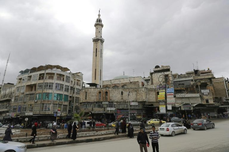 The city of Hama in central Syria