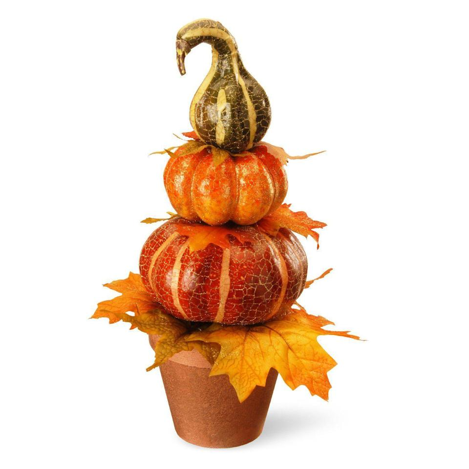 """<p><strong>National Tree Company</strong></p><p>target.com</p><p><strong>$24.99</strong></p><p><a href=""""https://www.target.com/p/15-potted-pumpkin-decor-national-tree-company/-/A-52232444"""" rel=""""nofollow noopener"""" target=""""_blank"""" data-ylk=""""slk:BUY NOW"""" class=""""link rapid-noclick-resp"""">BUY NOW</a></p><p>These cute little planters are chic enough for fall, and <em>just </em>on-theme enough for Halloween. Versatility FTW!</p>"""