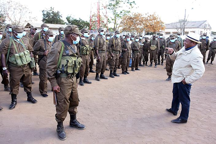 Mozambique Foreign Troops (ASSOCIATED PRESS)