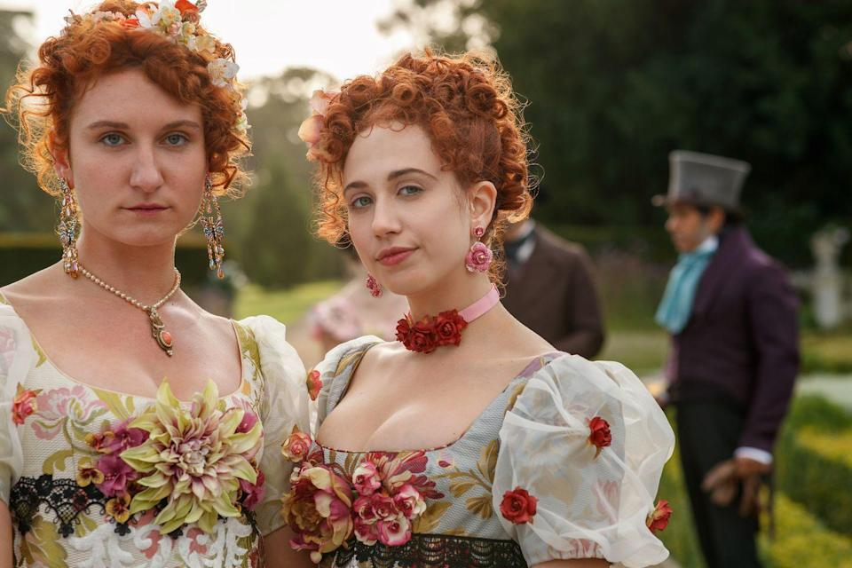 <p>Bessie's whole entire <em>thing</em> is period pieces, so if you love the genre, she should be recognizable from <em>Beecham House</em>, <em>Howards End, Cranford,</em> or <em>Les Misérables.</em> Meanwhile, Harriet has starred in a number of British TV shows, including<em> In the Flesh.</em></p>