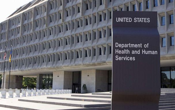 PHOTO: The US Department of Health and Human Services building is shown in Washington. (Saul Loeb/AFP via Getty Images)