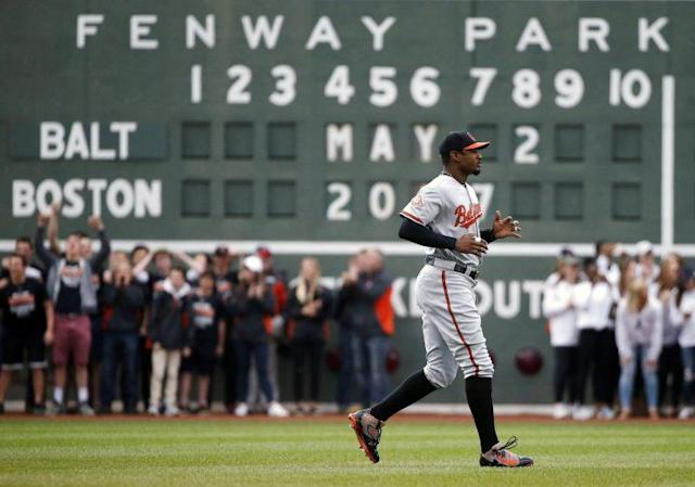 A day after Adam Jones heard racial taunts, the Red Sox handed out a lifetime ban to a fan. (AP)