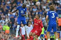 Chelsea held out with 10 men for a full half to draw 1-1 at Liverpool (AFP/Paul ELLIS)