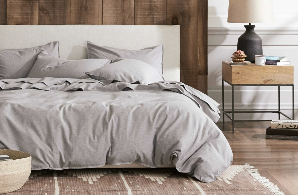 Cashmere sheets are the ultimate luxury. (Photo: Brooklinen)