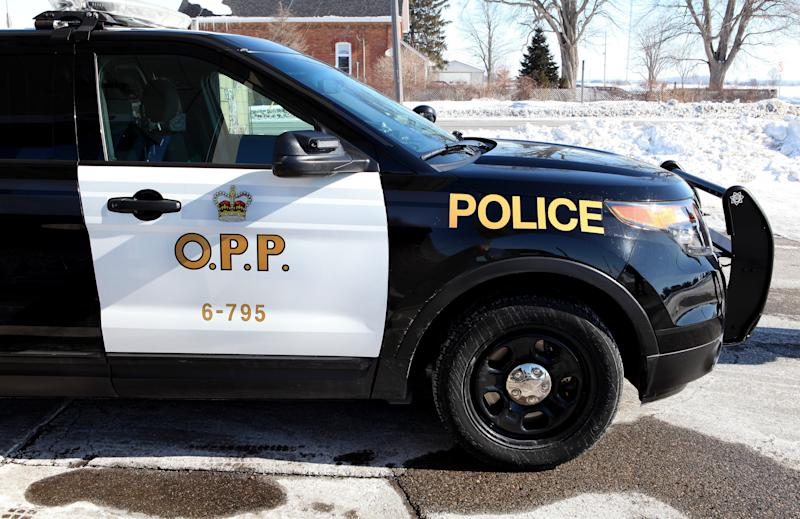 WINDSOR, ONTARIO, CANADA - FEBRUARY 28: Ontario Provincial Police vehicle on February 28, 2015 in Windsor, Ontario, Canada. (Photo By Raymond Boyd/Getty Images)