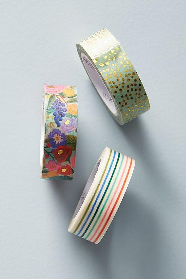 rifle paper co washi tape anthropologie