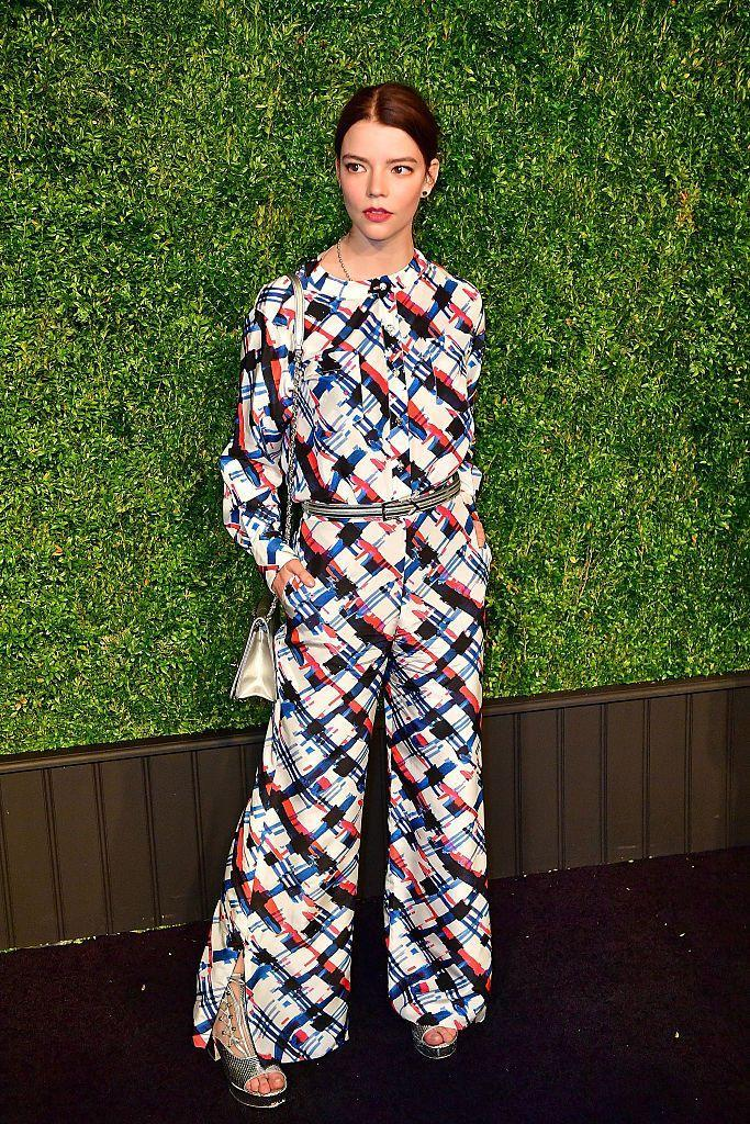 <p>Taylor-Joy looked chic in Chanel at their annual dinner.</p>