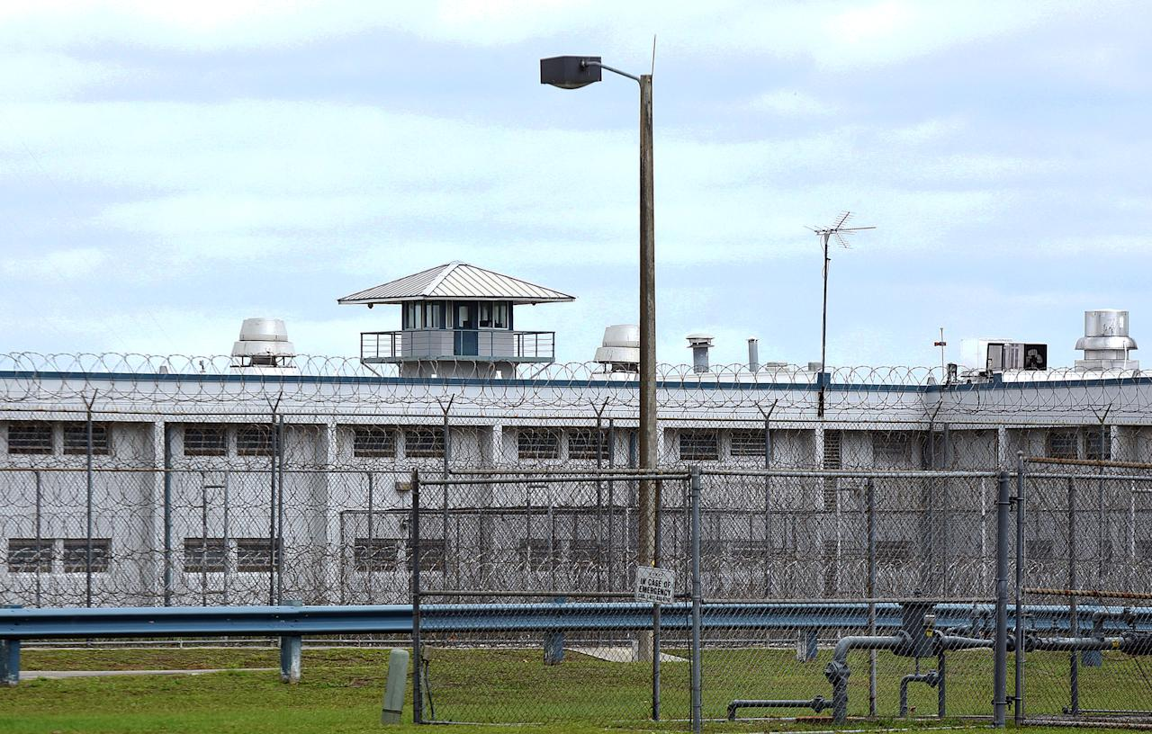 Tomoka Correctional Institution is seen in Daytona Beach, Florida on April 25, 2020, as corrections officials report that 84 inmates and 10 staff at the prison have tested positive for COVID-19. The number of prisoners at Tomoka who have tested positive for the coronavirus has more than doubled in the past week, making it the Florida prison with the most cases.  (Photo by Paul Hennessy/NurPhoto via Getty Images)