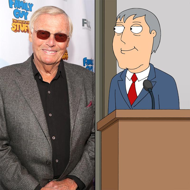 'Family Guy' to pay tribute to Adam West on Sunday
