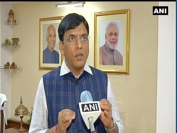 Minister of State for Chemicals and Fertilizers Mansukh Mandaviya. [Photo/ANI]