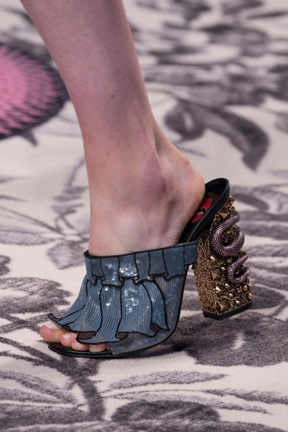 <p>Styling tip: Don't save them for a special occasion — statement heels can be easily dressed down for everyday wear with a pair of jeans and a simple top. <i>(Photo: ImaxTree)</i>.</p>