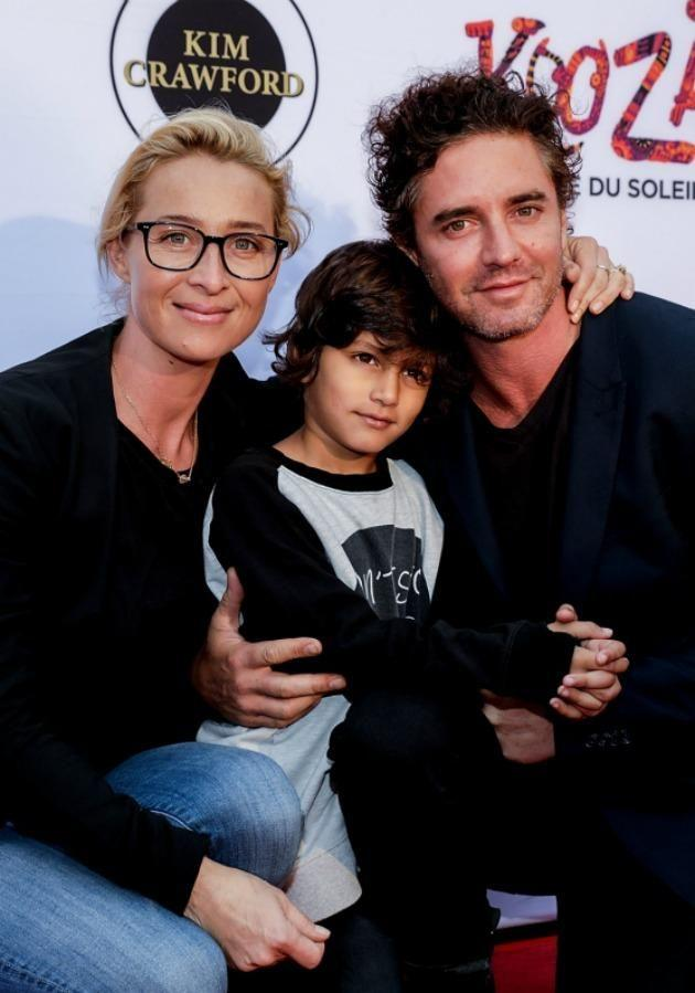 Together they share son Valentino who just celebrated his 3rd birthday. Source: Getty