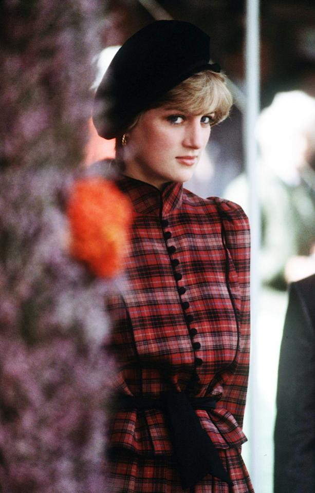 <p>A young Diana attended the Braemar Games in England in September 1981. </p>
