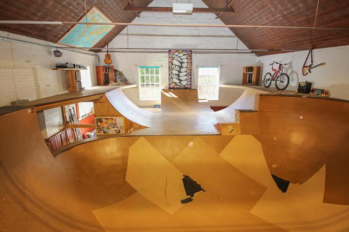 The skate park is on the ground floor of the property. (Rightmove/Attik)