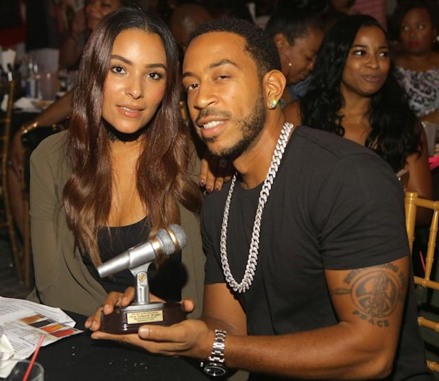 Eudoxie Mbouguiengue, the wife of rapper Ludacris, has suffered a miscarriage. (Photo: Getty Images)
