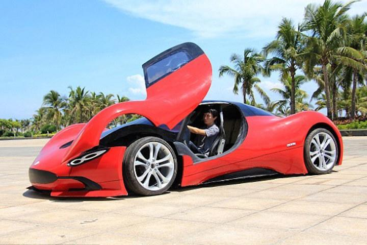 Chinese Electric Supercar