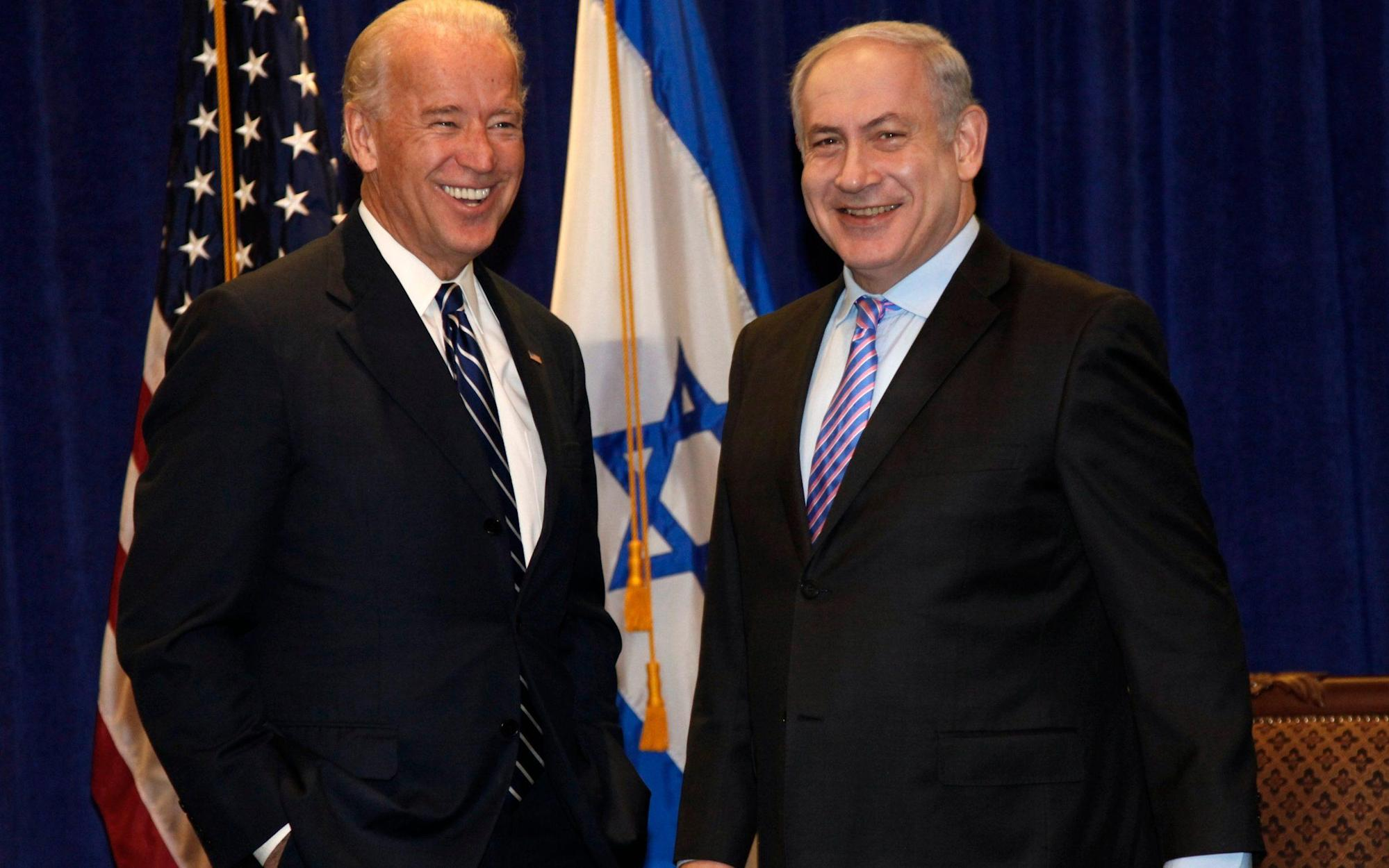 Joe Biden holds first call with Benjamin Netanyahu after month delay