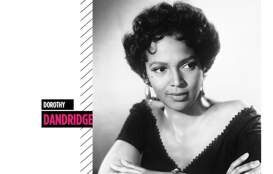 <p>Dorothy Dandridge was an actress, singer, and dancer who wowed us with well-groomed brows and gorgeous pin curls. (Photo: Getty Images) </p>